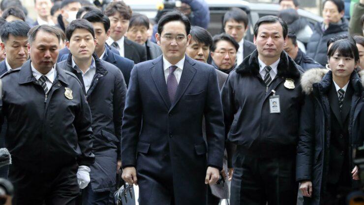 Samsung Heir Lee Jae-yong Has Been Sentenced to 2.5 Years in Prison
