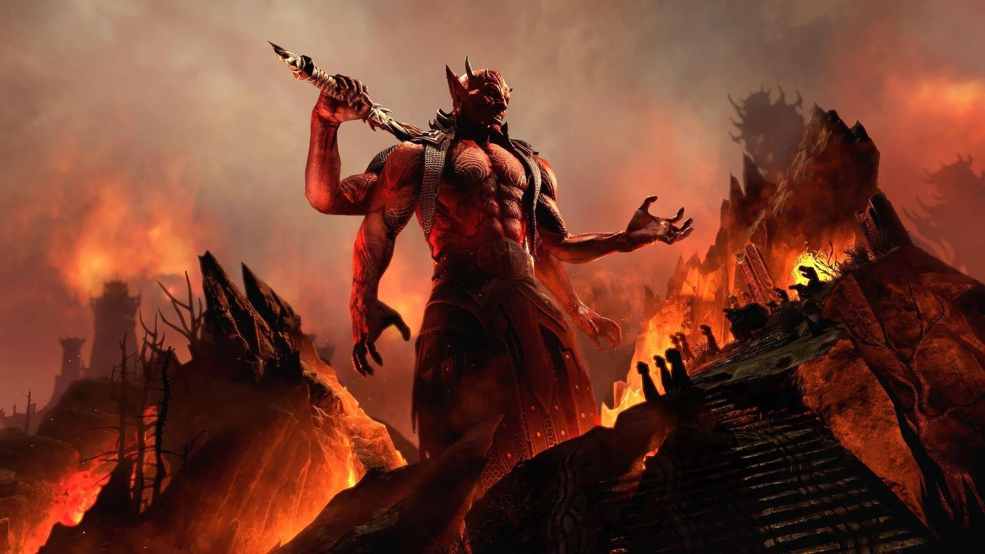 Blackwood Is the New Chapter of Elder Scrolls Online, Featuring Oblivion's Mehrunes  Dagon
