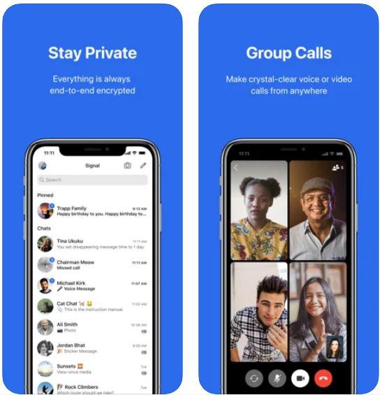 Internet messaging app
