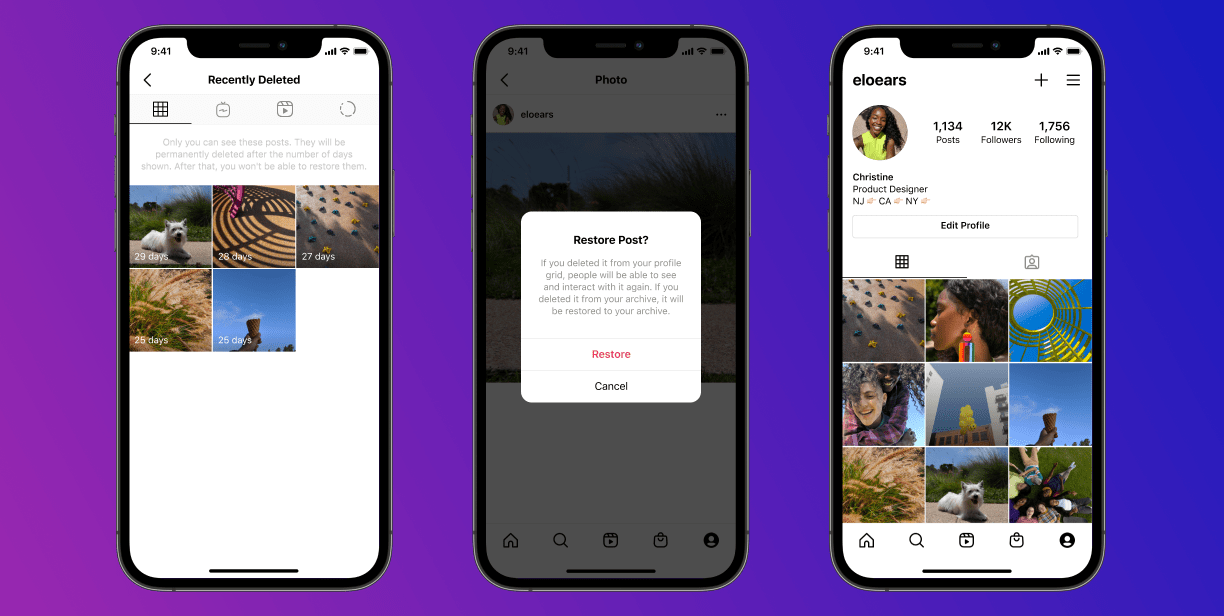 Instagram on Android and iOS Gets 'Recently Deleted' Section for Bringing Deleted Posts