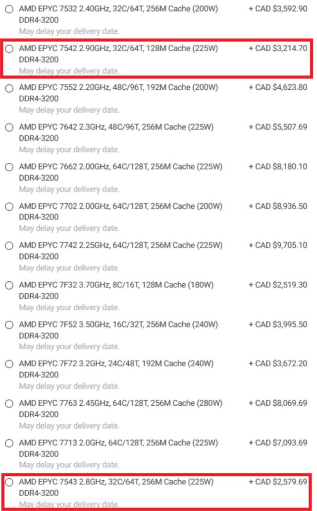 AMD EPYC Milan 3rd Gen Zen 3 Server CPU Lineup _1