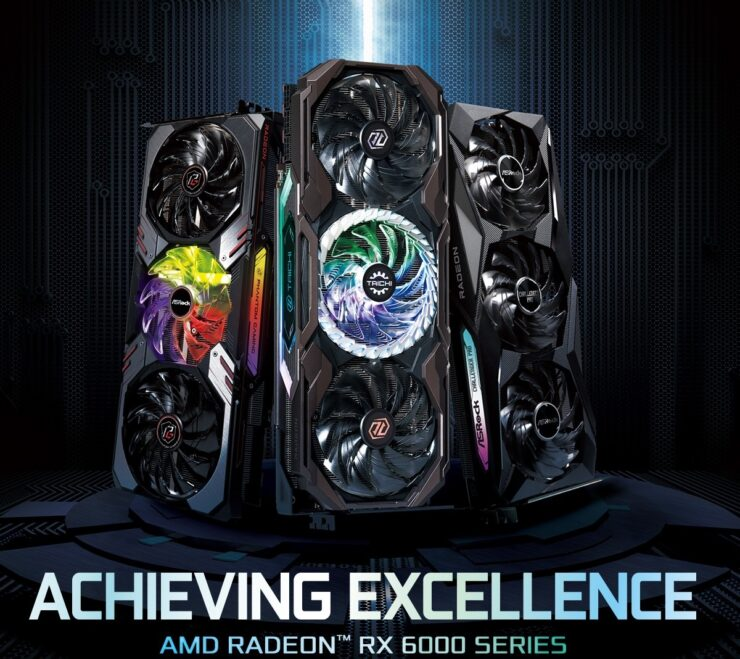 ASRock Radeon RX 6700 XT, Radeon RX 6600 XT, Radeon RX 6700 RDNA 2 Custom Graphics Cards AMD
