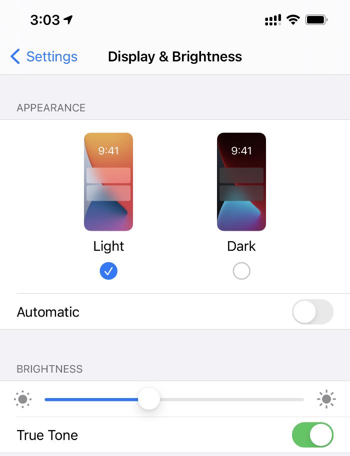 Cómo calibrar el brillo automático en iPhone y iPad