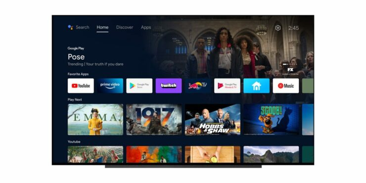 Android TV Gets a Home Screen Revamp in the New Update