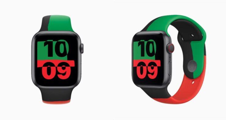 Apple Watch Series 6 Black Unity released