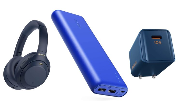 Blue color match accessories for blue iPhone 12, iPhone 12 mini, iPhone 12 Pro, iPhone 12 Pro Max