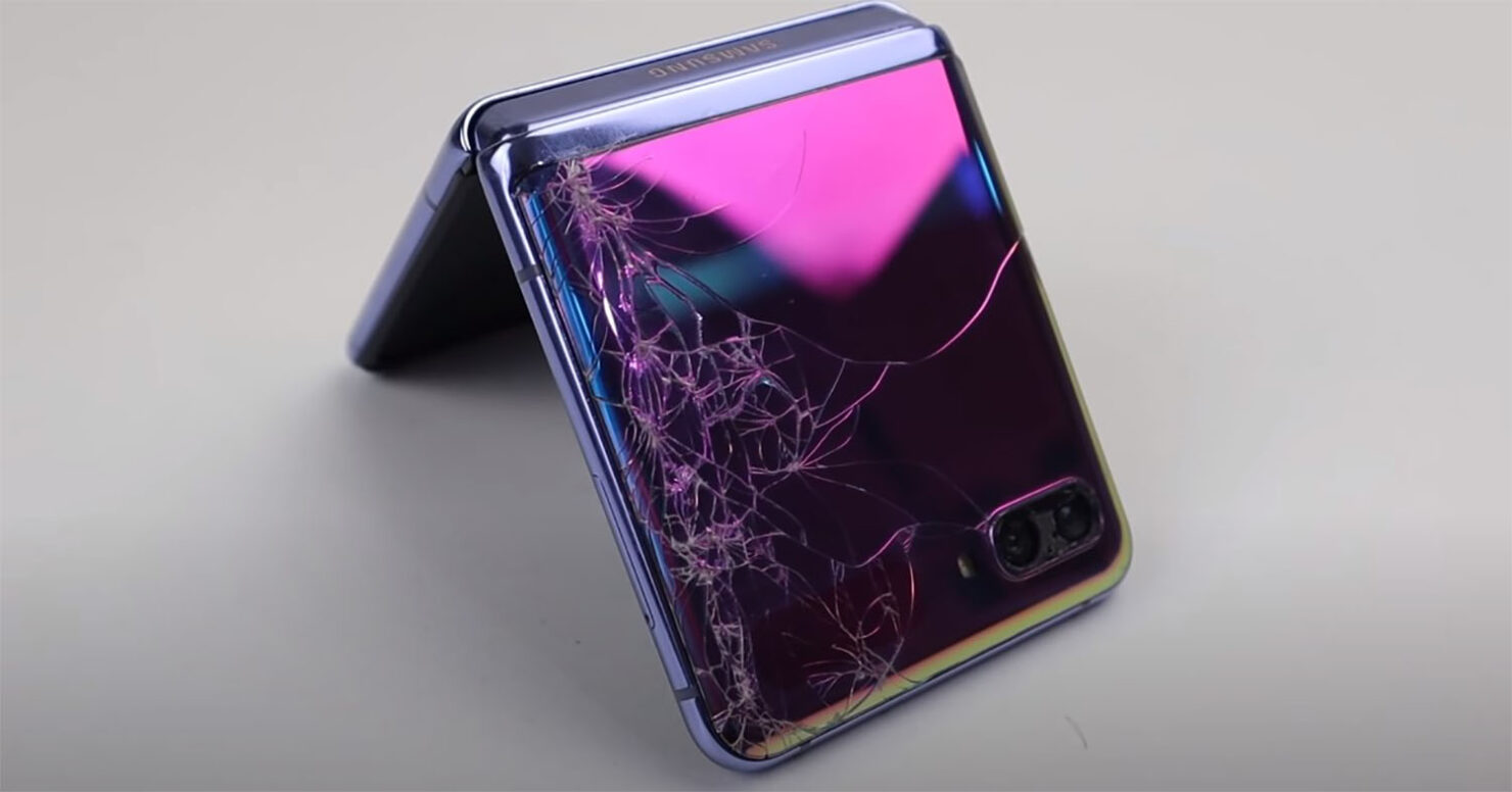 Galaxy Z Flip With Broken Display, Shattered Back and Destroyed Camera Lens Gets Completely Restored in Latest Video