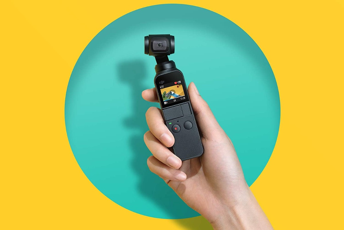 Get the DJI Osmo Pocket 4K camera for $199 today