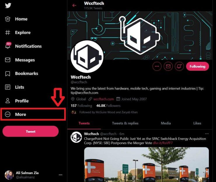 Enable Dark 'Lights Out' Mode on Twitter Desktop Website