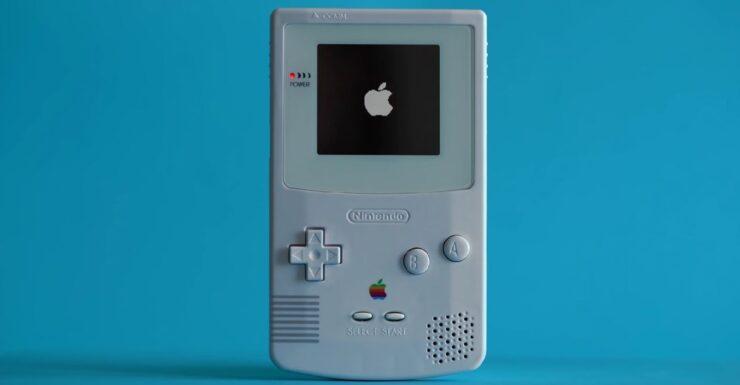 GameBoy Color Apple TV Remote title