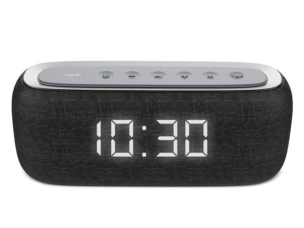 HAVIT Bluetooth Speaker with Radio and Clock