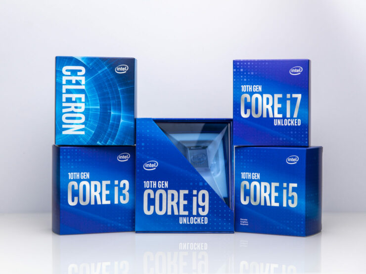 New Logo, New Package - Intel Core i3-10105F Spotted In Malaysia Donning Intel's New Packaging