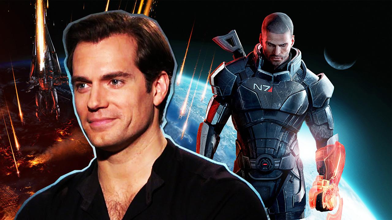 The Witcher Mass Effect Henry Cavill