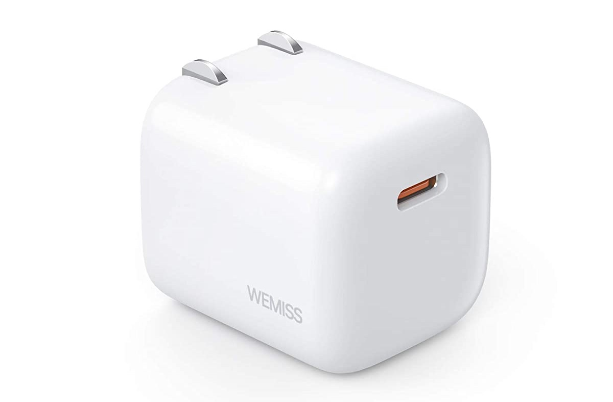 WEMISS USB-C 20W adapter available for under $10 today