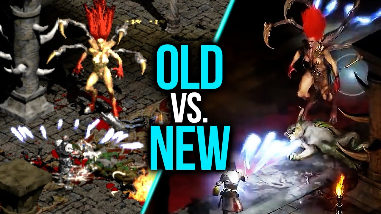 Diablo II Resurrected vs Original Diablo II Comparison Shows Impressive Improvements While Retaining The Game's Overall Art Style - Wccftech