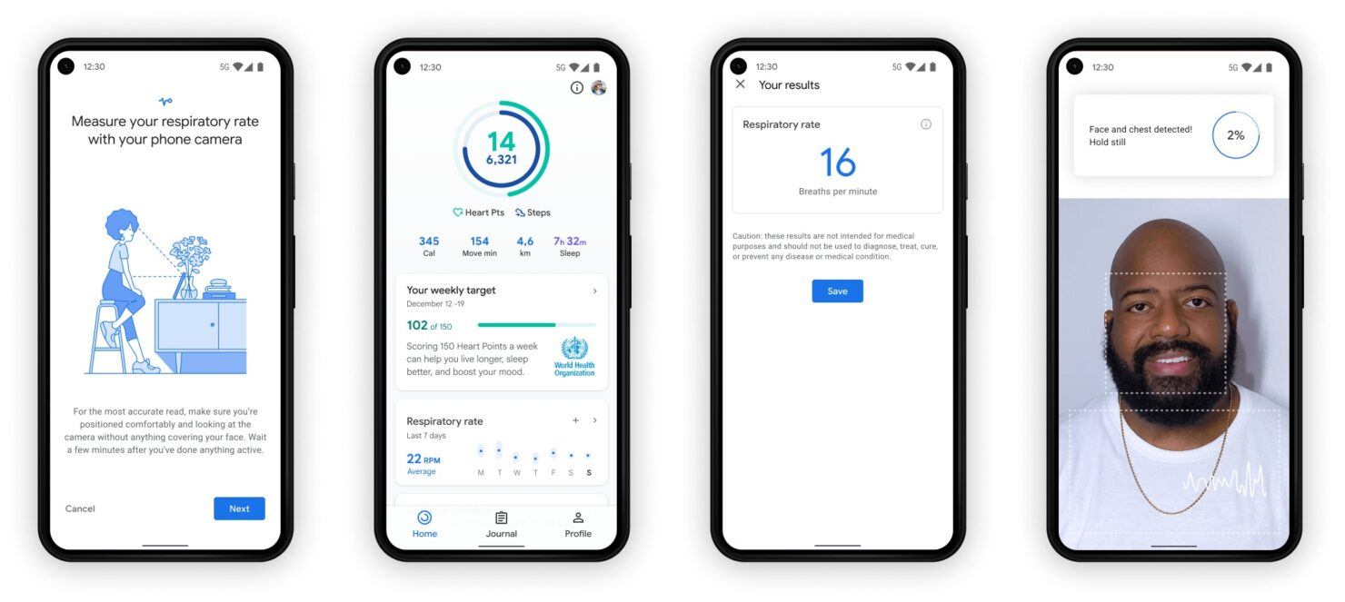 Google Fit Can Now Measure Heart and Respiratory Rate Using Your Phone's Camera