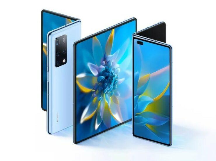Huawei Mate X2 Brings an Inward Folding Design, Kirin 9000, and a 90Hz Display