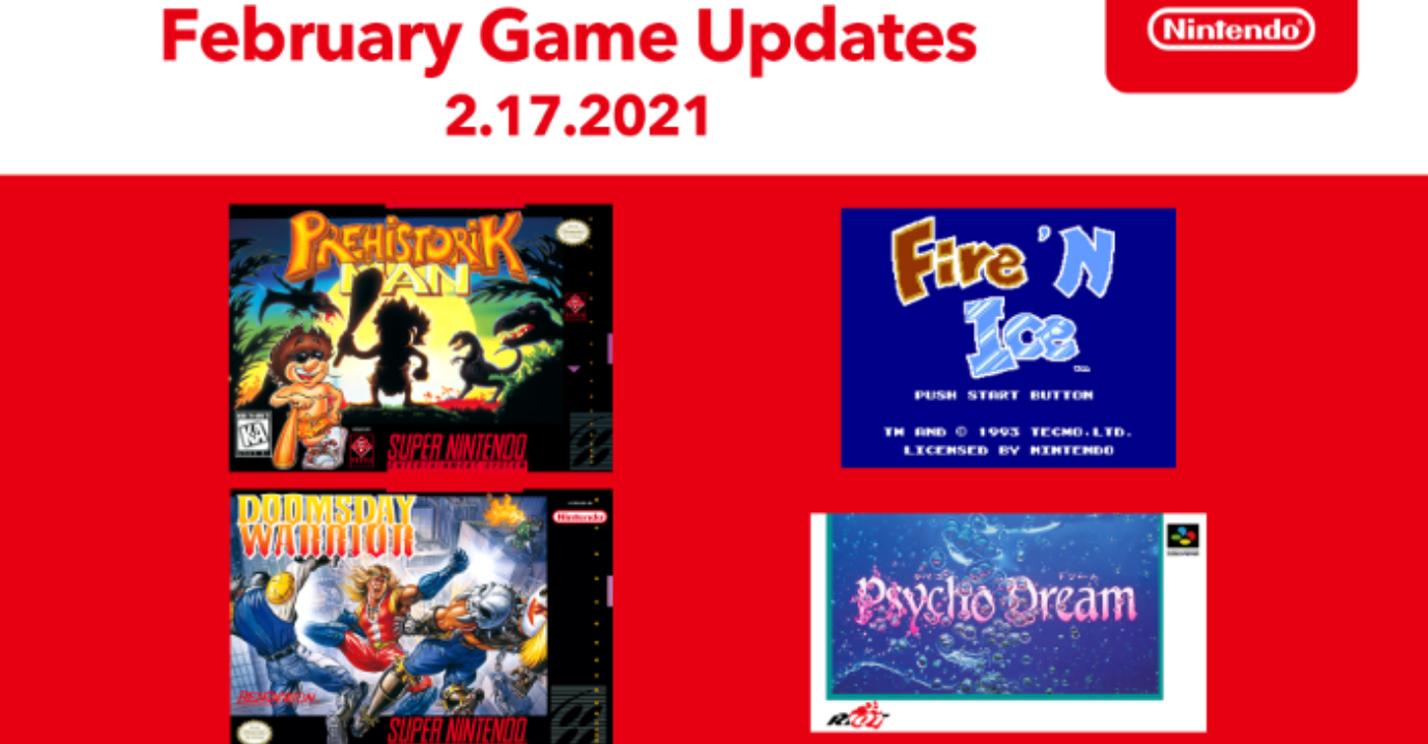 new snes nes games nintendo switch online