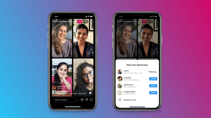 Instagram Announces Live Rooms, Go Live With Up to 3 of Your Friends