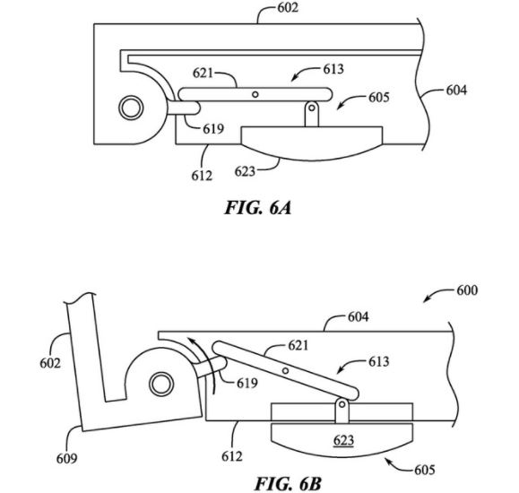 Apple Patent Describes Deployable Feet for MacBook Pro for Cooling
