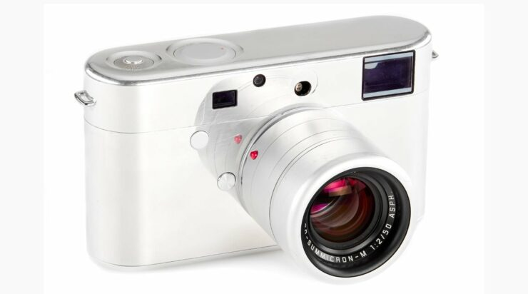 A Leica Camera Designed by Former Apple Chief Design Offer is Headed to Auction for $300,000