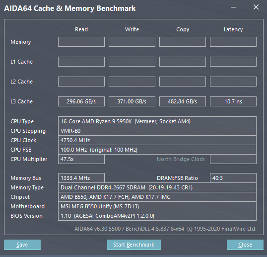 AMD Ryzen 5000 L3 Cache Performance MSI AGESA 1.2.0.1 BIOS Firmware For X570, B550 & A520 Motherboards _1