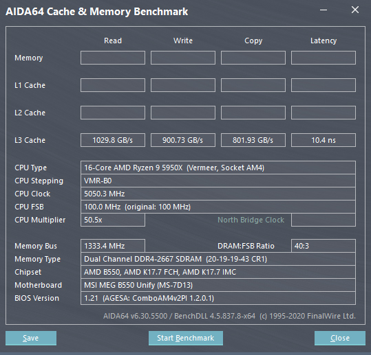 AMD Ryzen 5000 L3 Cache Performance MSI AGESA 1.2.0.1 BIOS Firmware For X570, B550 & A520 Motherboards _2