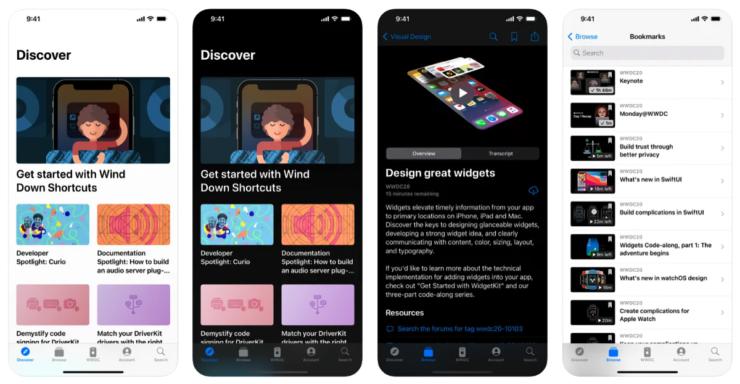 Apple Developer app updated after WWDC 2021 announcement