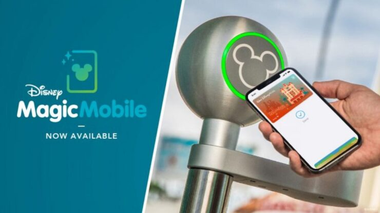 Disney MagicMobile Pass for iPhone and Apple Watch