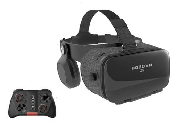 Dragon VR Gaming 3D Stereo Headset with Bluetooth Controller