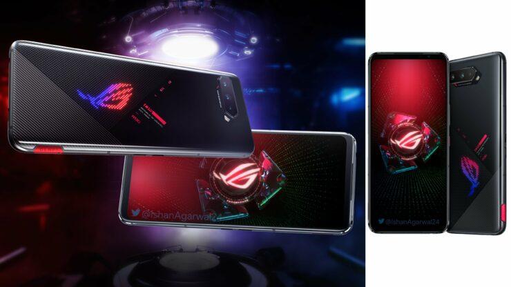ASUS ROG Phone 5 Press Renders Leak in Black and White Colorways, Headphone Jack Makes a Return