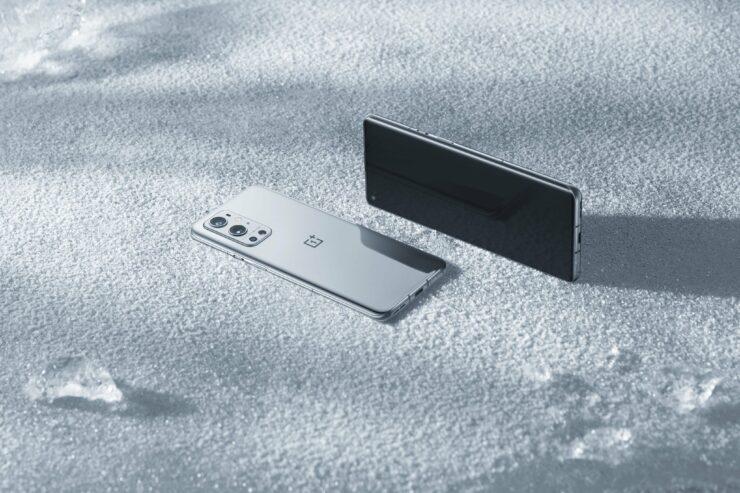 OnePlus 9 Pro in Morning Mist Colorway Looks Elegant