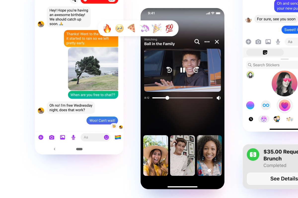 How to share your iPhone screen with someone on Facebook Messenger
