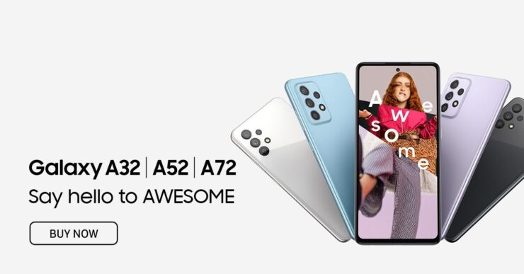 Galaxy A52 and A72 Marketing Material Reveals Everything You Need to Know