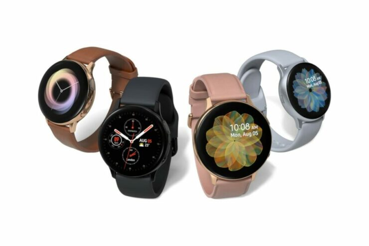Galaxy Watch With Wear OS and Galaxy Buds 2