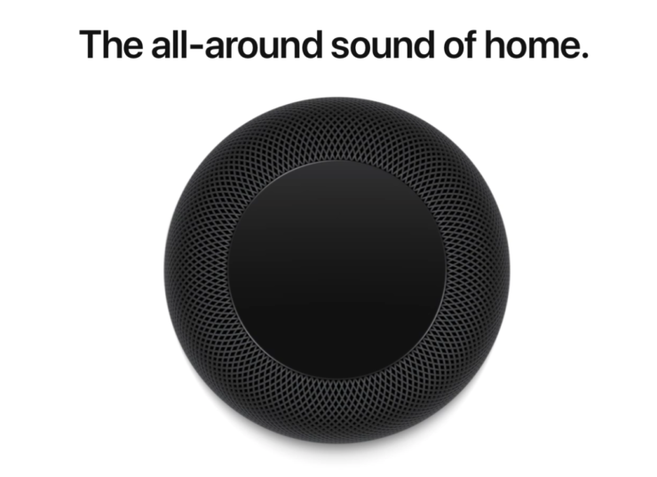 Space Gray HomePod goes out of stock in the United States