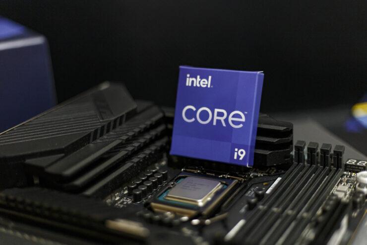 Intel Core i9-11900K in socket