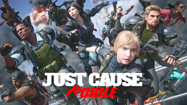 Just Cause Mobile Crashes Its Way On iOS and Android This Year