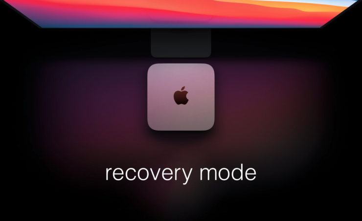 How to boot M1 Mac into Recovery Mode