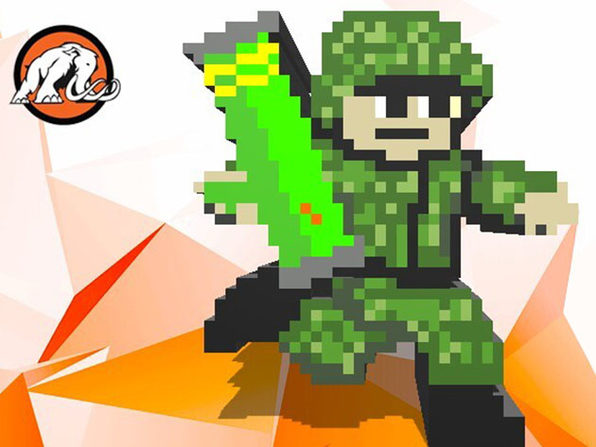 Make a Mega Dude Action Shooter Game in Unity® with Pixel Art