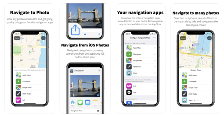 Navigate to Photo currently free on App Store