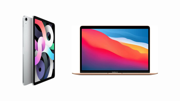 Apple to Reportedly Launch OLED iPad Air and mini-LED MacBook Air in 2022