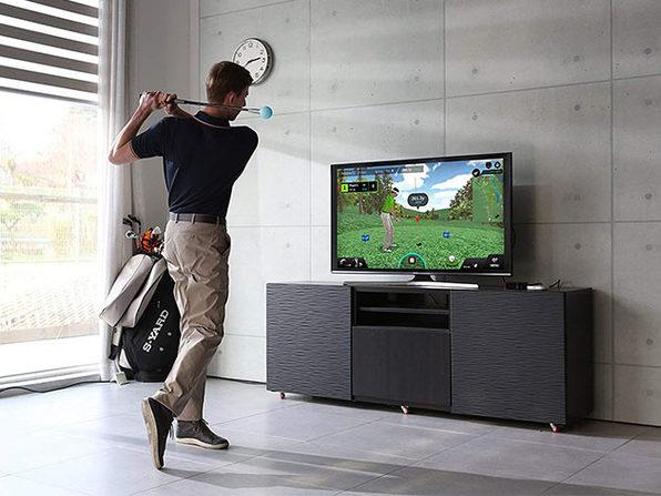 PhiGolf Mobile & Home Smart Golf Simulator with Swing Stick