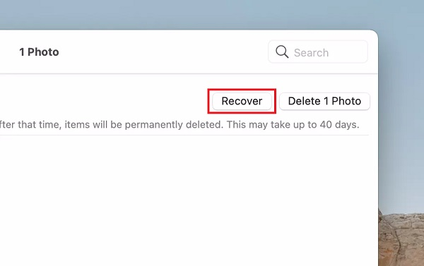 Recover Deleted Photos on Mac 2