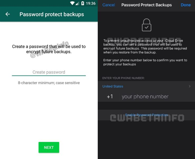 WhatsApp Encrypted iCloud Backup 2 title