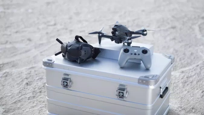 DJI FPV is a Cinematic First-Person View Drone That Can Shoot 4K at 60 FPS