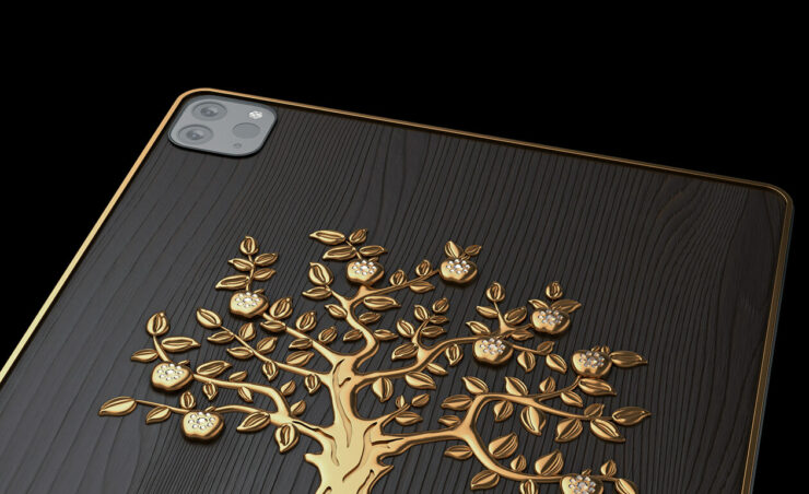Luxury iPad Pro Models With 1KG 18 Karat Gold, Decorated Quotes of Steve Jobs, Tim Cook Will Set You Back From $8,000 Onwards