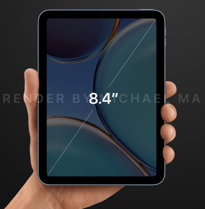 iPad mini 6 concept iPad Pro title