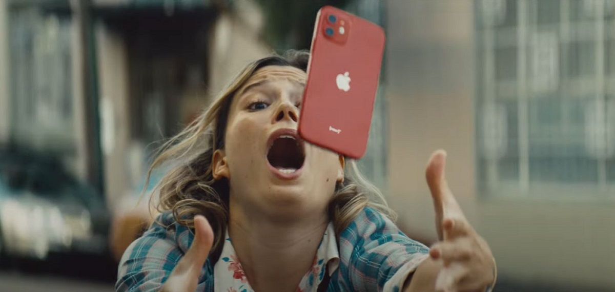 iPhone 12 Ceramic Shield Glass Ad by Apple