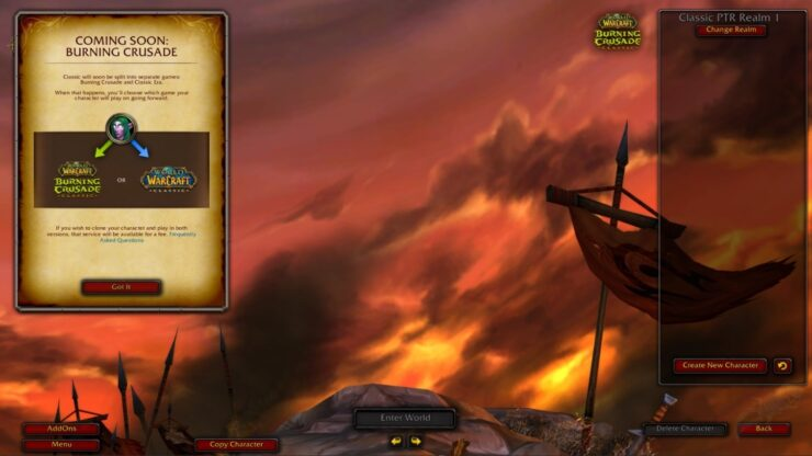 wow the burning crusade classic assets clone ray tracing